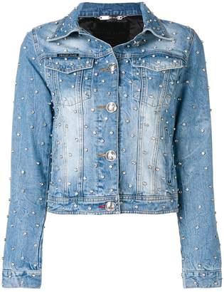 Philipp Plein studded denim jacket
