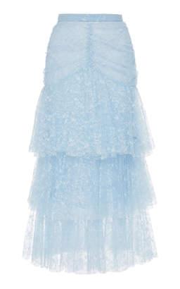 Rodarte Tiered Tulle Maxi Skirt