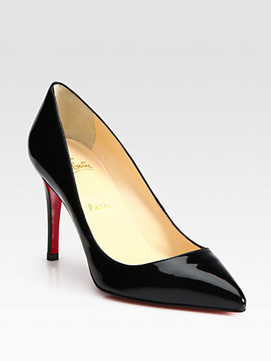 Christian Louboutin Pigalle 85 Patent Pumps