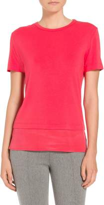 St. John Soft Wash Viscose Jersey T-Shirt