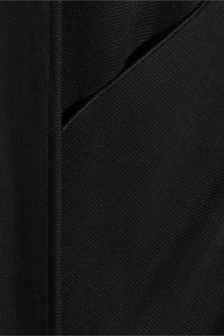 Maison Martin Margiela Split-back satin-jersey gown
