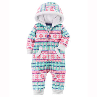 Carter's Long Sleeve Jumpsuit - Baby Girls