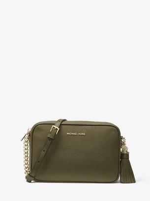 10d8c5bf7c21 MICHAEL Michael Kors Ginny Leather Crossbody Bag