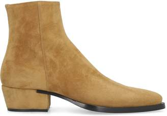 Givenchy Dallas Suede Ankle Boots