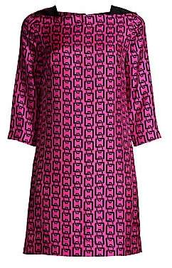 Milly Women's Julia Chain Print Mini Dress