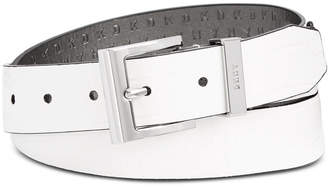 DKNY Croc-Embossed Faux Leather Belt