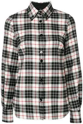 Plein Sud Jeans tartan print shirt