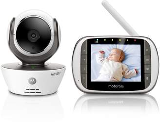 """Motorola Baby MBP853CONNECT Video Baby Monitor with 3.5"""" Handheld Parent Unit and Wi-Fi Hubble Connected App for Smartphones & Tablets"""