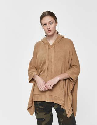 Farrow Emmie Hooded Poncho Sweater