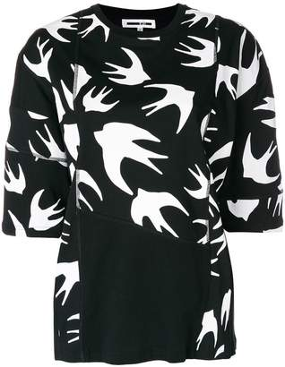 McQ birds printed T-shirt