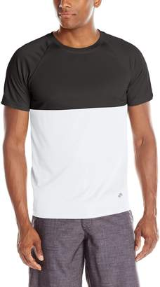 Trunks Men's UPF 20 Colorblock Swim Tee