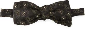 Etro Pre-Tied Paisley Formal Bow Tie