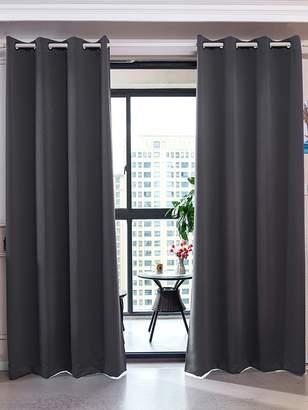 Elegant Home Fashions Sparta Premium Insulated Grommet Window Panels (Set of 2)