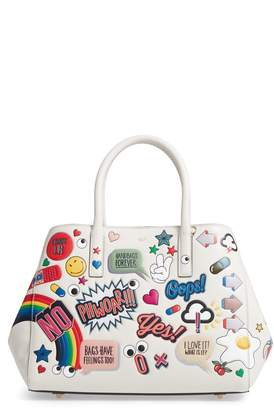 Anya Hindmarch Ebury - Allover Sticker Leather Tote