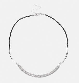 Avenue Metal Collar Rope Necklace