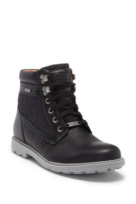 Rockport Rugged Buck Plain Toe High Boot