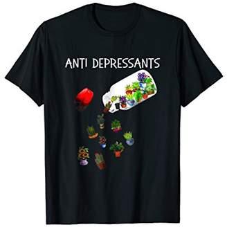 Anti Depressant T-Shirt For Flower Lovers