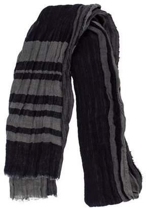 Inhabit Cashmere & Linen Stripe Scarf