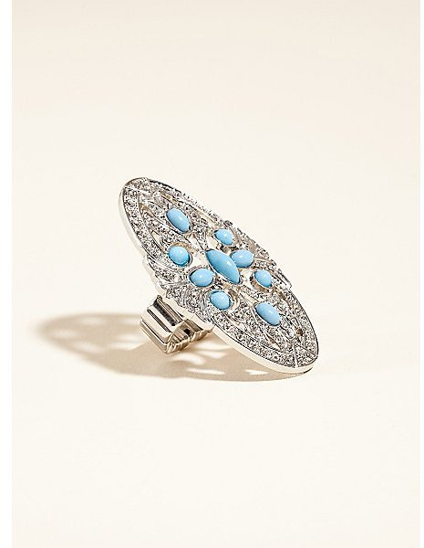 GUESS Knuckle Ring with Stones