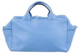 Reed Krakoff Leather Track Handle Bag
