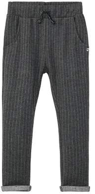 MANGO Fine-stripe jogging trousers