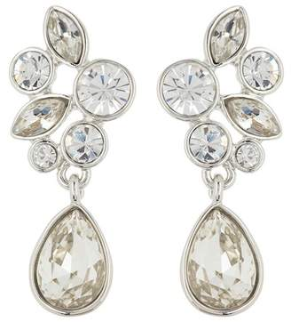Givenchy Crystal Cluster Drop Earrings