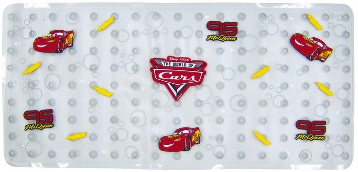 Ginsey Disney Cars Dimensional Vinyl Bath Mat - Red