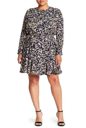 Wilson Rebel X Angels Long Sleeve Ruffle Dress (Plus Size)