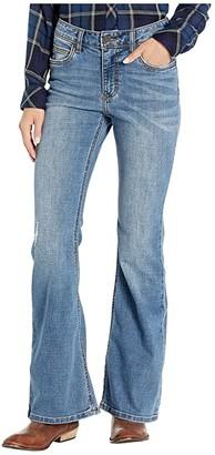Wrangler Western Retro Bailey Mae Mid-Rise Flare Leg