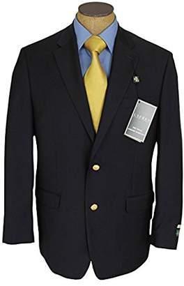 Ralph Lauren Mens 2 Button Blue Wool Blazer Sport Coat Jacket - Size 44L