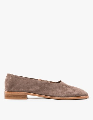 Jordan in Taupe Suede $145 thestylecure.com