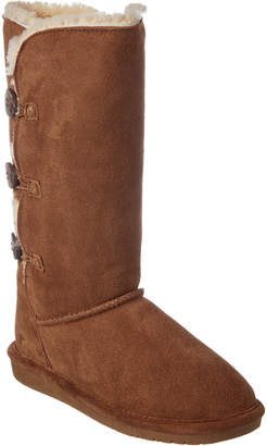 BearPaw Women's Lauren Classic Tall Neverwet Suede Boot