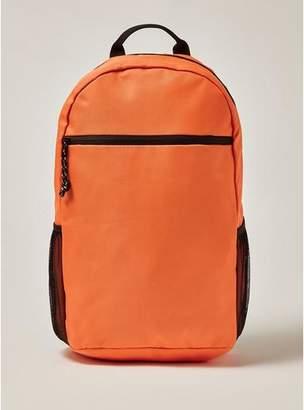 Topman Mens Orange Backpack