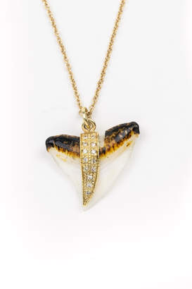 Jacquie Aiche Shark Tooth Necklace