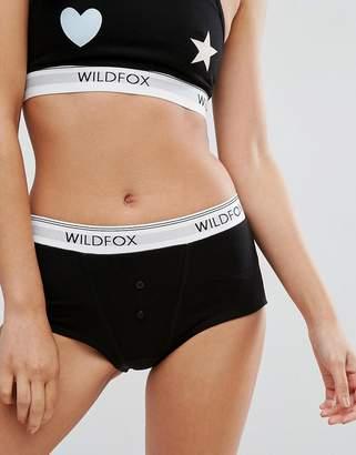 Wildfox Couture Logo Tom Boy Brief