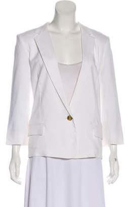 Halston Structured Notch-Lapel Jacket