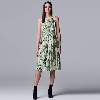 b4b3ba5c13e Vera Wang Women s Simply Vera Knot-Waist Dress