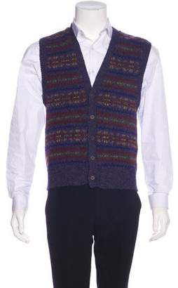 Holland & Holland Wool Sweater Vest