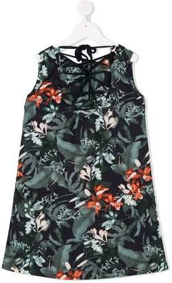 Manoko sleeveless floral print dress