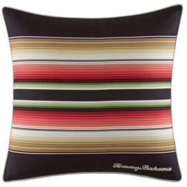 Tommy Bahama Jungle Drive Striped Square Breakfast Pillow