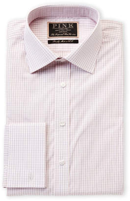 Thomas Pink The Imperial Slim Fit Check Dress Shirt