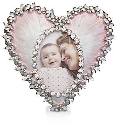 Jay Strongwater Enameled Heart Frame