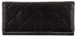 Longchamp Logo Embossed Wallet