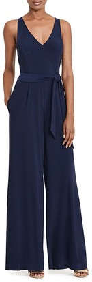 Lauren Ralph Lauren Wide-Leg Jumpsuit $150 thestylecure.com