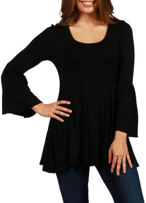 24/7 Comfort Apparel MASTER CUTLERY Del Mar Tunic Top