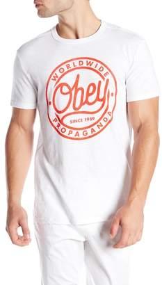 Obey Since 89 Slub Short Sleeve Tee
