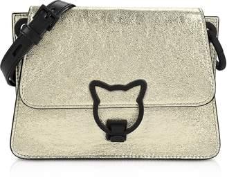 Karl Lagerfeld Paris K/katlock Metallic Crossbody Bag