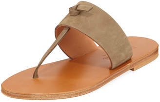 K. Jacques Shambala T-Strap Suede Sandals