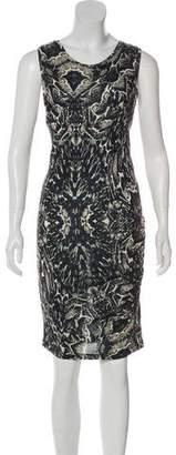 Haute Hippie Printed Sleeveless Dress w/ Tags