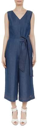 Ted Baker Colour By Numbers Pipere Chambray Jumpsuit